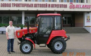 Трактор Беларус 320 в натуральную величину