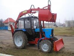 Погрузчик-экскаватор ЭП-Ф-1БМ