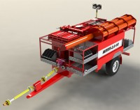 Модуль пожарный прицепной МПП-2.0-10.1.